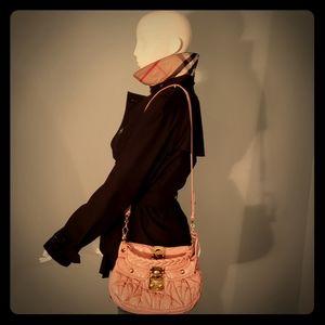 MIU MIU matelesse pink bag
